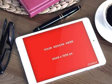 реалистичный дизайн планшета