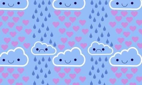 дождевые тучи шаблоны бесплатно