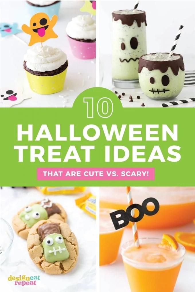 Halloween Treat Ideas For Coworkers : halloween, treat, ideas, coworkers, Halloween, Treats, Design, Repeat