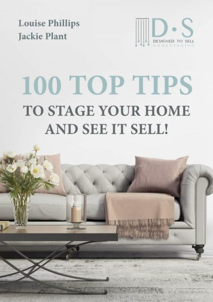 Homestaging book - 100 Top Tips to stage your home and see it sell!