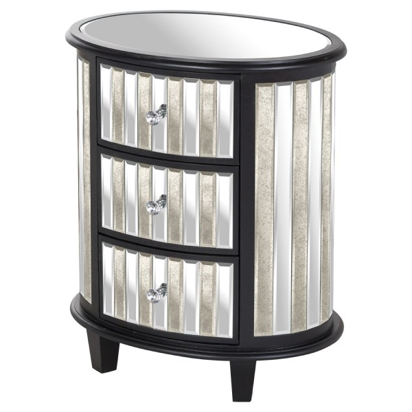 Soho Collection Oval 3 Drawer Unit