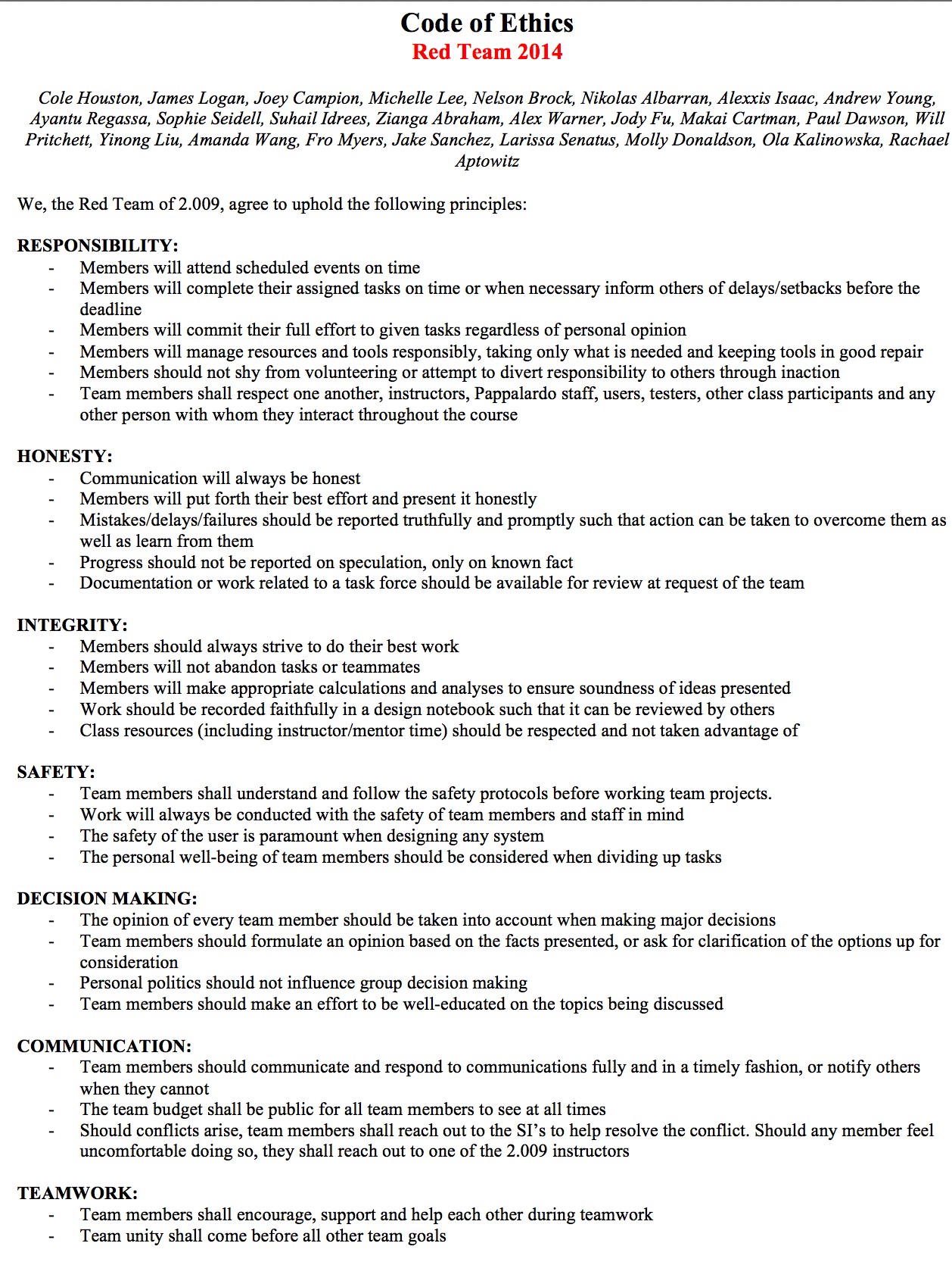 Resume Adverbs Code Of Ethics Examples Images Resume Cover Letter Examples