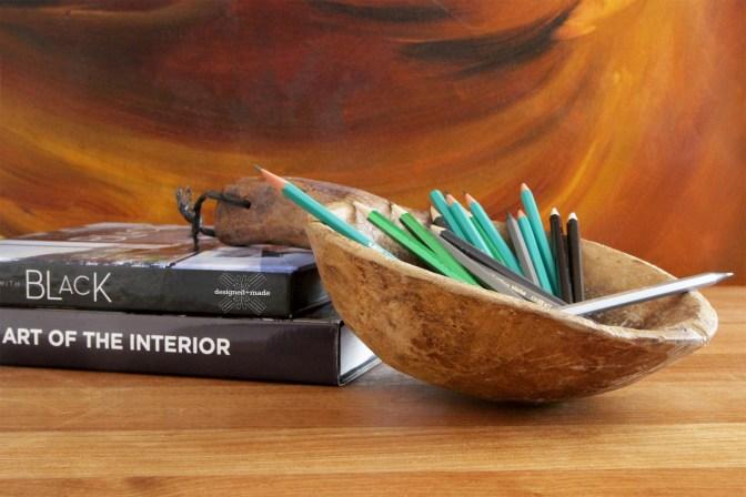 0006-VNT-vintage-wooden-water-ladle