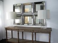 Wall of Mirrors | designedbykrystleblog