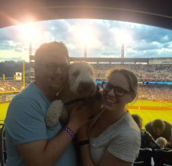 camping, tent camping, tents, lake, vacation, pennsylvania, summer vacation, weekend getaway, memories, making memories, Pittsburgh, PNC Park, Pup Night at the Park, Pup Night, Baseball Game, wheaten terrier, brantley bub, baseball, pittsburgh pirates,