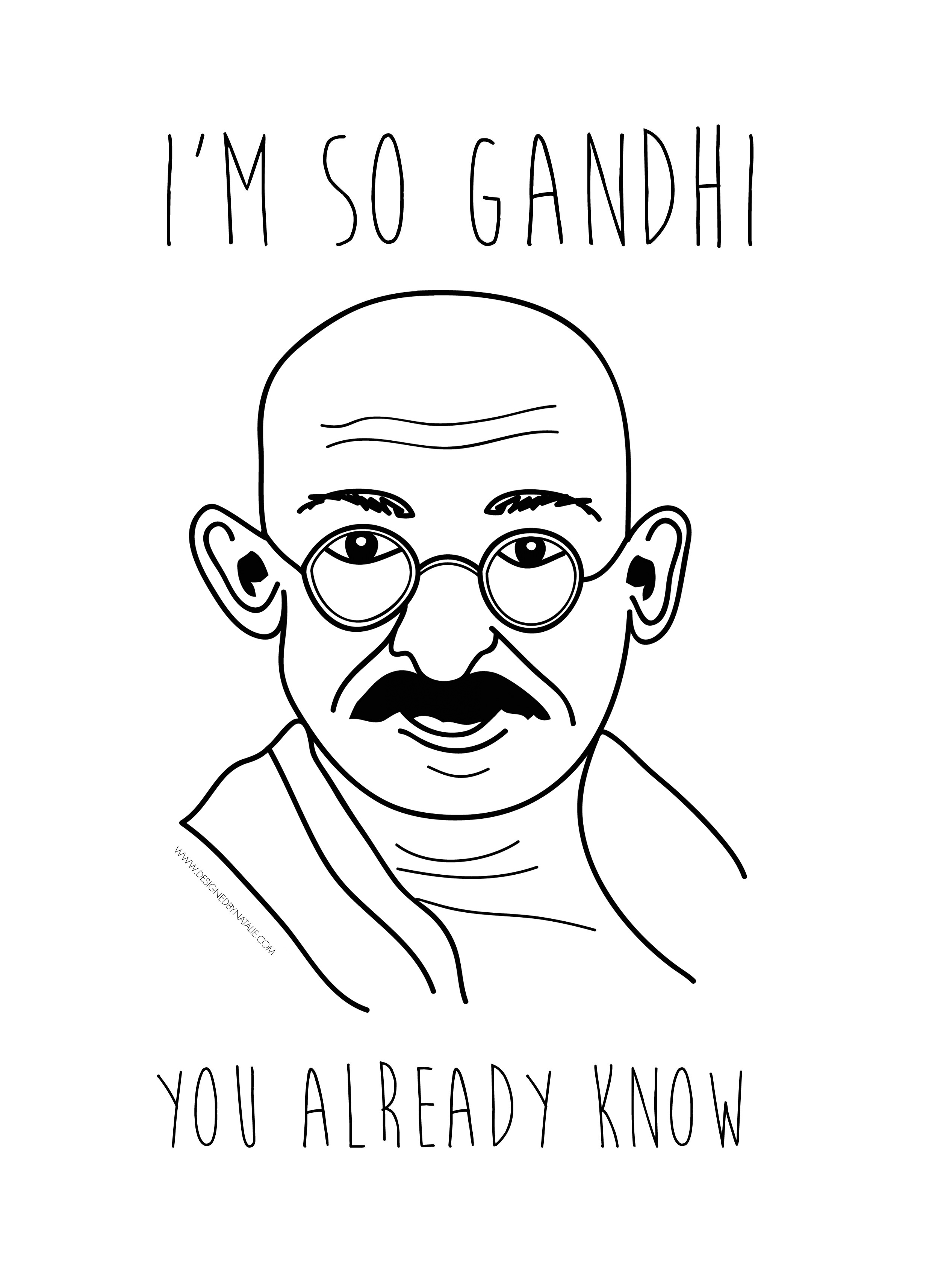 Im So Gandhi  Street Art Poster  Buy  Iggy Azalea