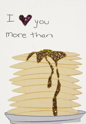 Pancake Valentine