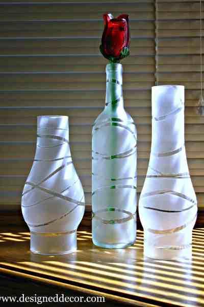DIY: Painted Jars and Bottles
