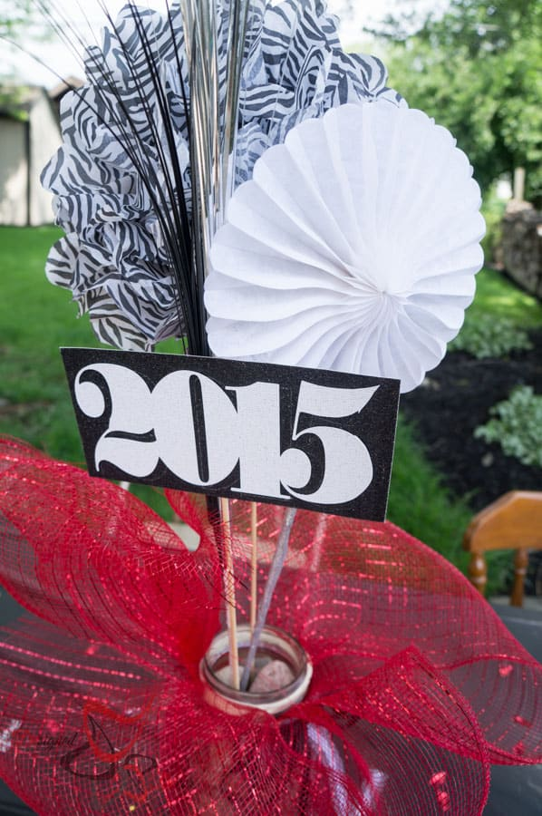 Graduation Party Planning- DIY-CupCake Stand-Table Decorations-Photo Booth-12