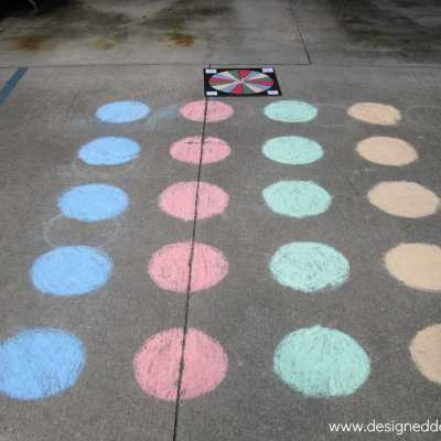 D.I.Y. Twister Game