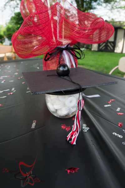 Graduation Party Candy Dish!