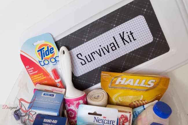 College Survival Kit - DIY Emergency Kit-8