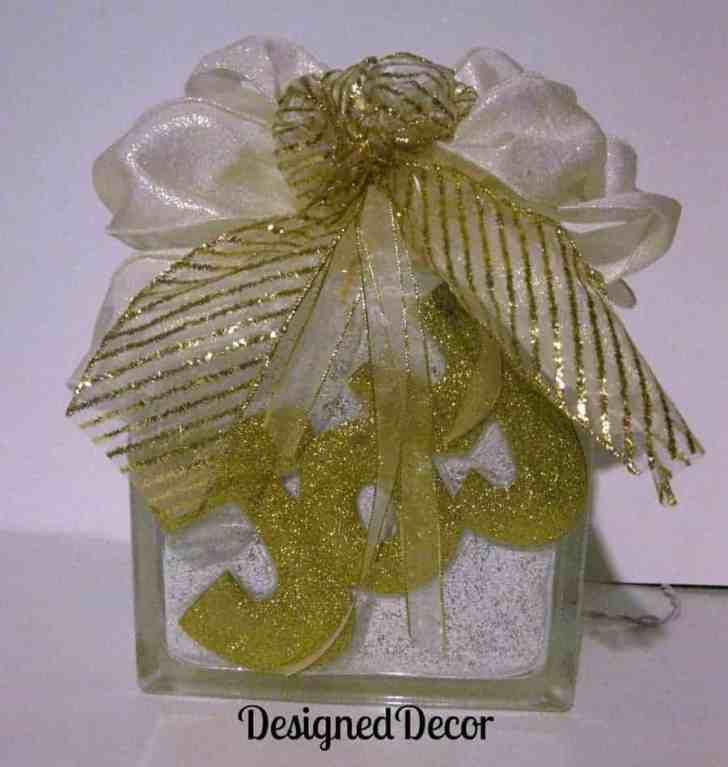 Tutorial for Decorating Glass Blocks!