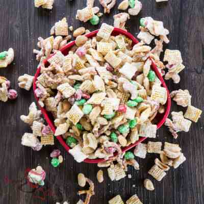 White Chocolate Party Mix!