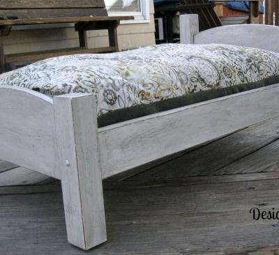 Repurposed Pet Bed!