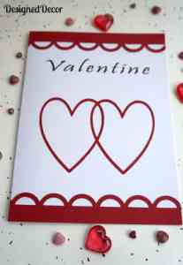 DIY ~ Valentines Card