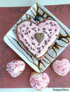 Valentine's Day Heart Cake 0250