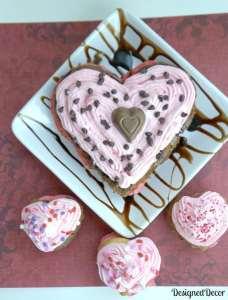 Valentine's Day Heart Cake 0250