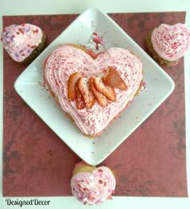 Valentine's Day Heart Cake 0256