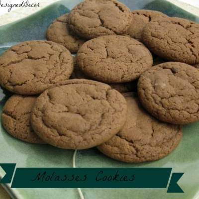 Tantalizing Tuesday – Molasses Cookies!
