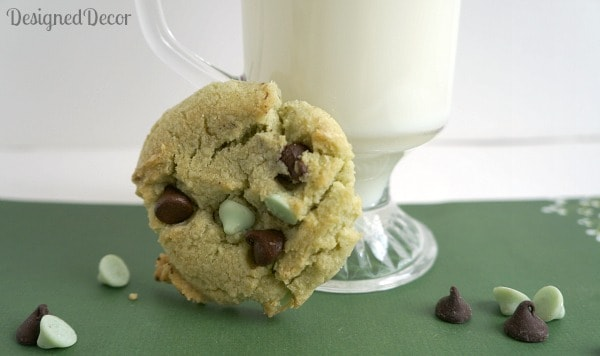 Mint Chocolate Chip Cookies 3