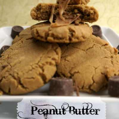 Tantalizing Tuesday – Peanut Butter Rolo Cookies!