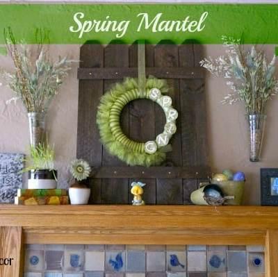 Spring Mantel 2013!