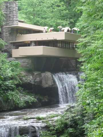 Frank Lloyd Wright House Falling Waters