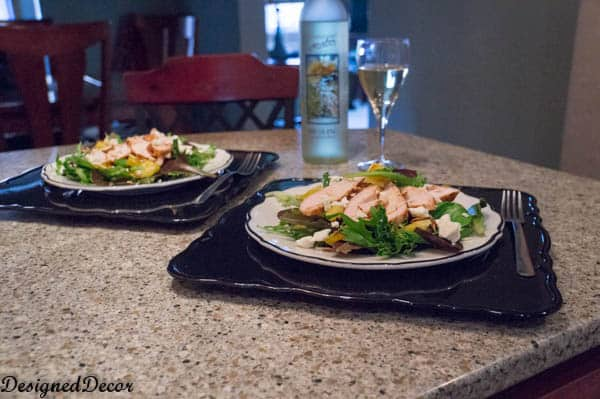 Dinner for 2 with Dole Spring Mix Salad