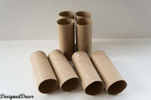 Starting seedlings with toilet paper rolls designed decor for How to use toilet paper rolls