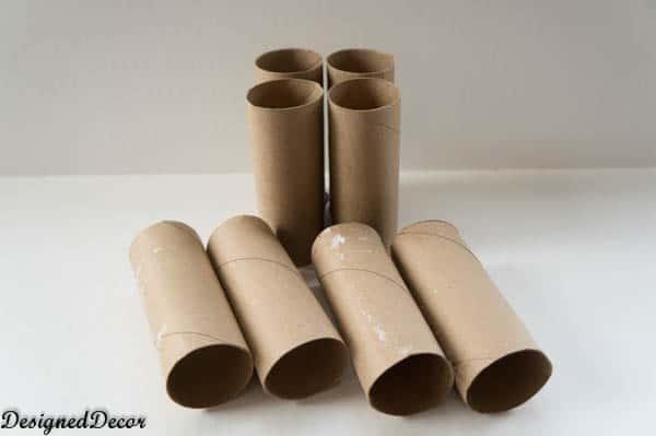 Toilet Paper rolls - Seed Starters