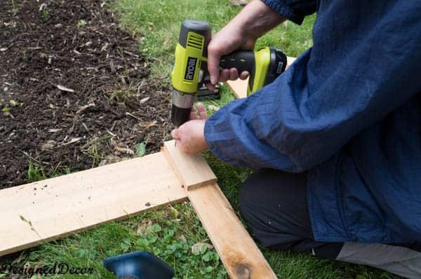 Building a raised garden bed-4