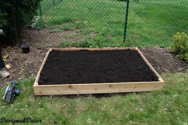 Building a raised garden bed-9