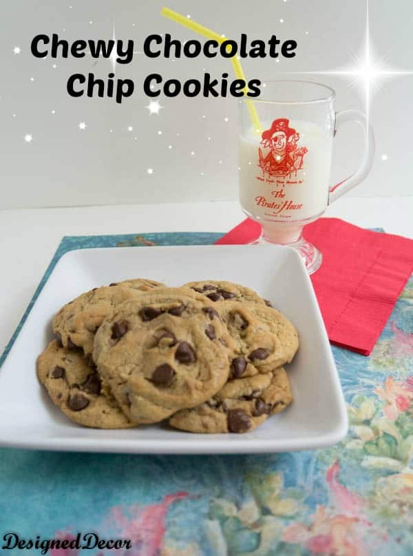 Tantalizing Tuesday - Chewy Chocolate Chip Cookies! - Designed Decor