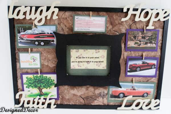 Law of Atracttion Vision Board-6