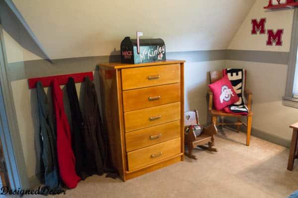 Mack's bedroom