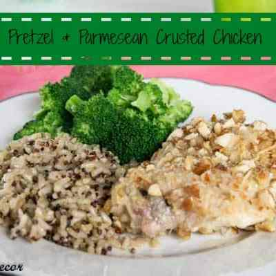 Tantalizing Thursday – Pretzel and Parmesan Crusted Chicken with Daregal Gourmet!