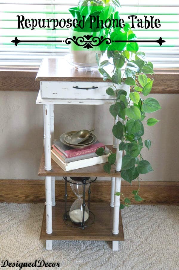 Repurposed Phone Table-