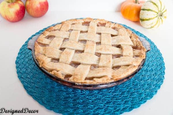 lattice crust apple pie recipe