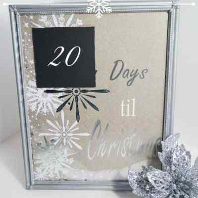 Countdown to Christmas Frame!