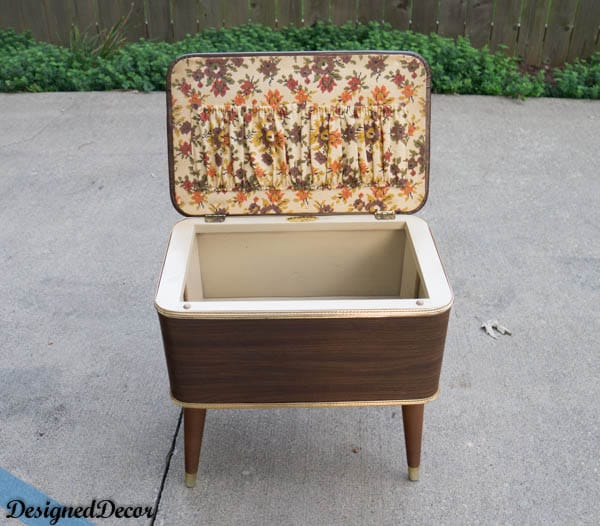 1960's sewing box