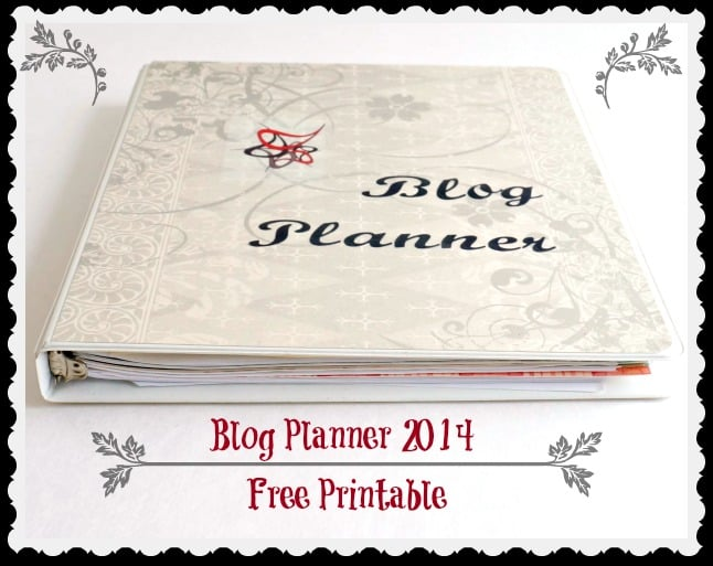 Blog Planner Pinnable
