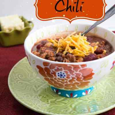 Staying Warm with a Chili Recipe!