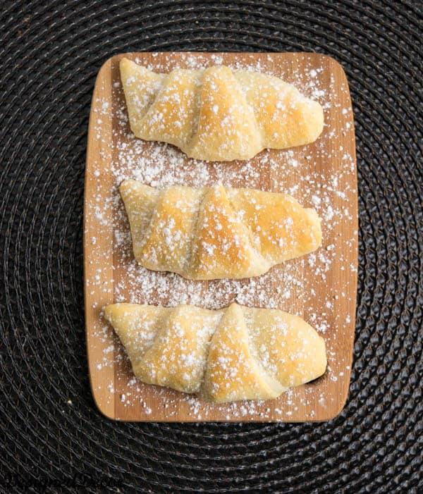 Dessert Crescent Rolls