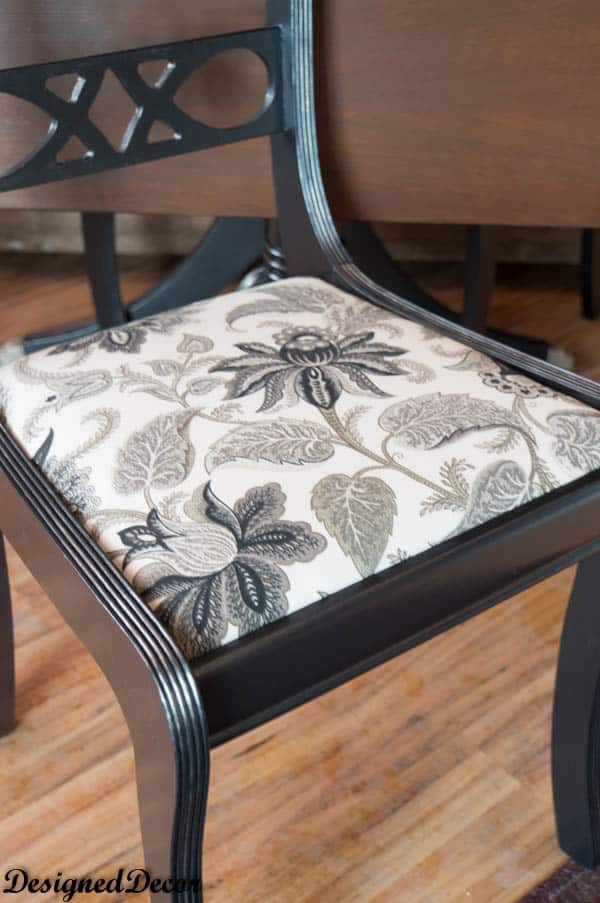 Re-covered chair