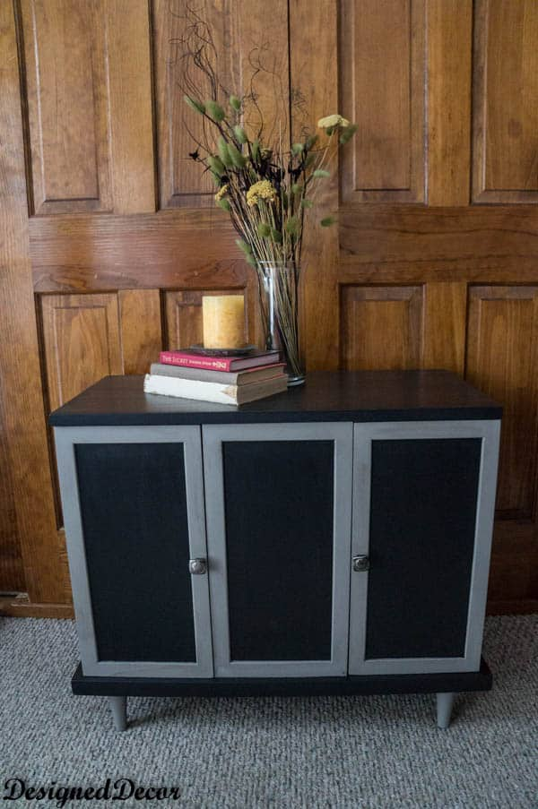 Painting a Small Credenza