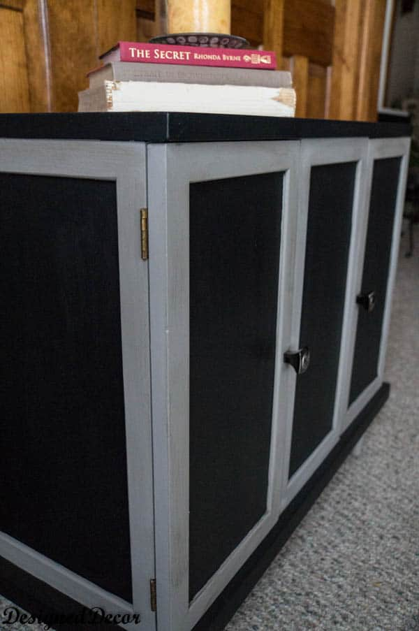 Makeover on a Small Credenza