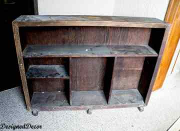 Antique Floor Shelf