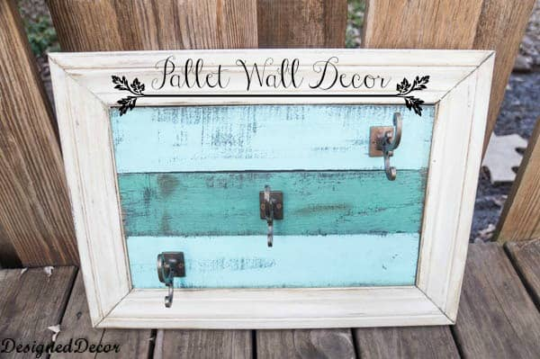 Wood Pallet Wall Decor pallet wall decor ~- designed decor