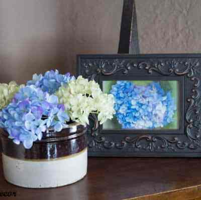 Simple Spring Decorating!
